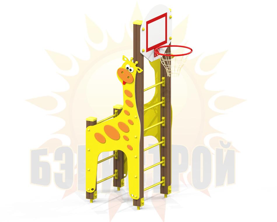 SK ZHiraf mini s basketbolnym koltsom