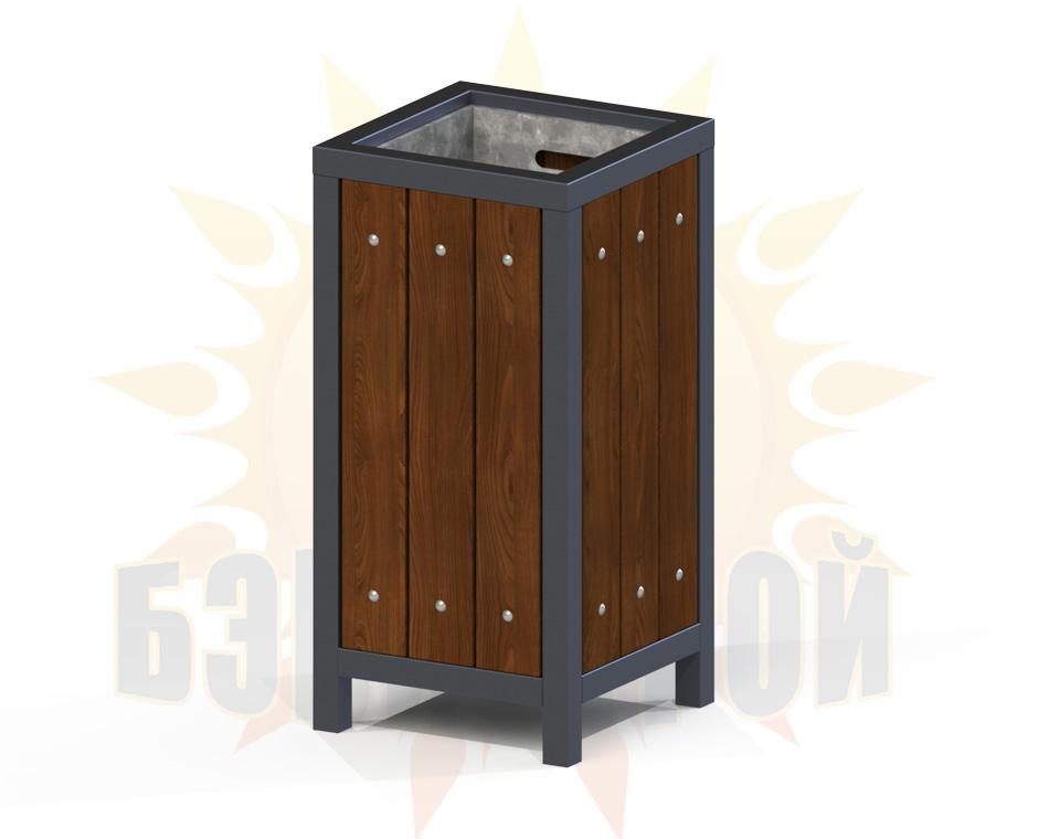 urna kvadrat odinarnaya chern