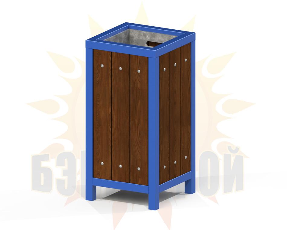 urna kvadrat odinarnaya s